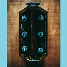 "Load image into Gallery viewer, Yakisugi ""Apocalyptic Blue"" Beer Tote"