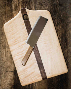 Maple and Walnut Charcuterie/Serving Board