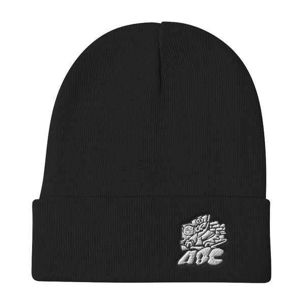 ABC logo black letters Embroidered Beanie