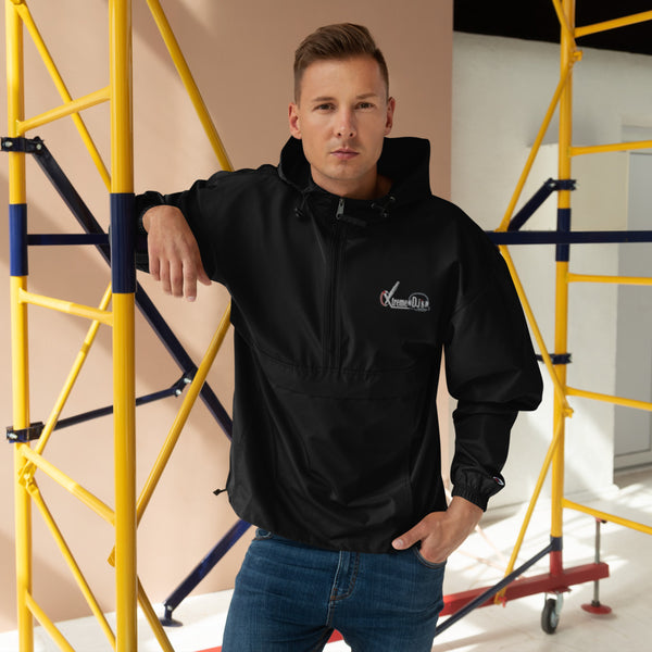 Xtreme Djs Embroidered Packable Jacket