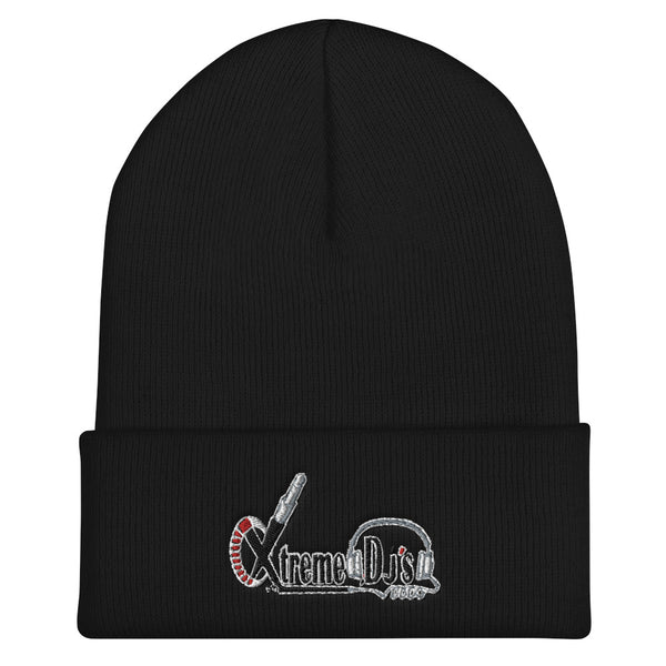 XTREME DJS-Embroidered Cuffed Beanie