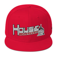 HOUSE-MUSIC-ABC Snap Hat