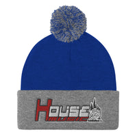 HOUSE MUSIC ABC Pom Pom Knit Cap