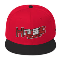 HOUSE-MUSIC r/w-Snapback Hat