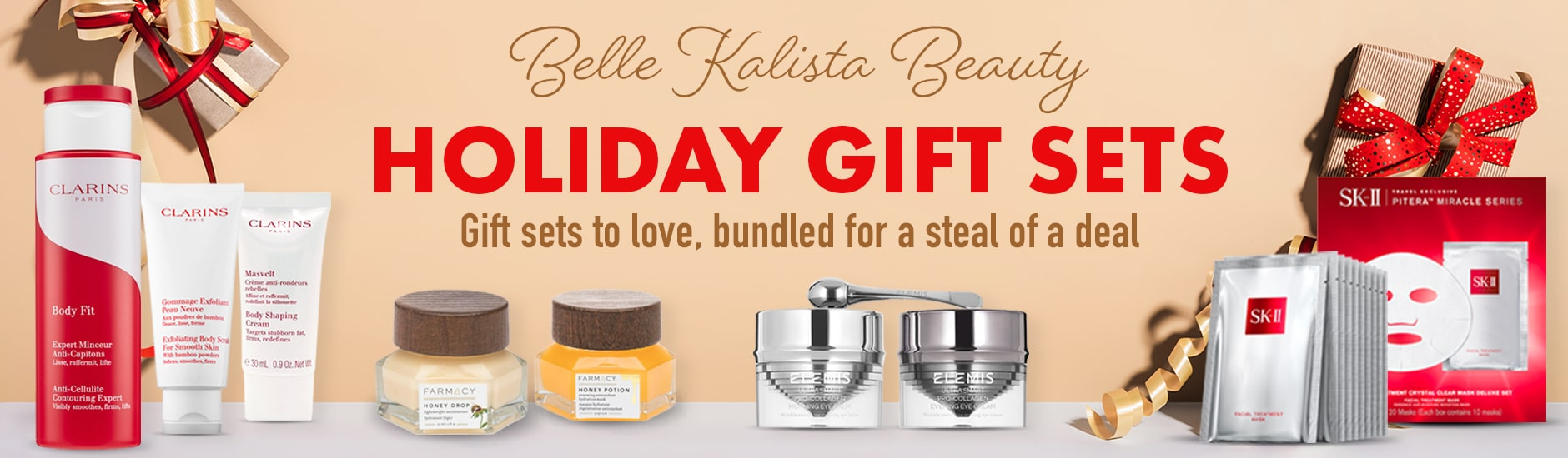 Kalista Beauty Gift Set Banner