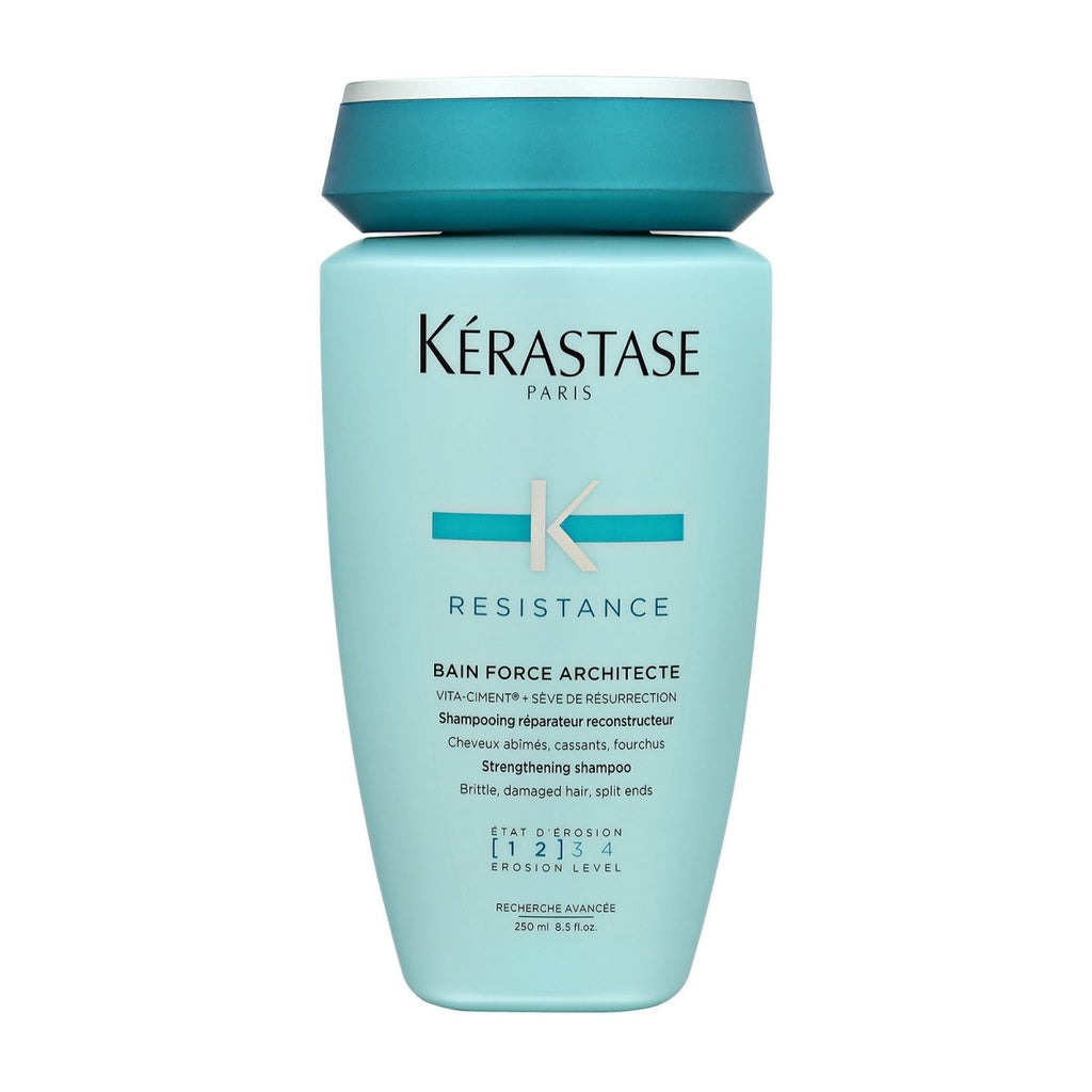 Bain Force Architecte Strengthening Shampoo (For Brittle, Damage Hair, Split Ends) - Kerastase