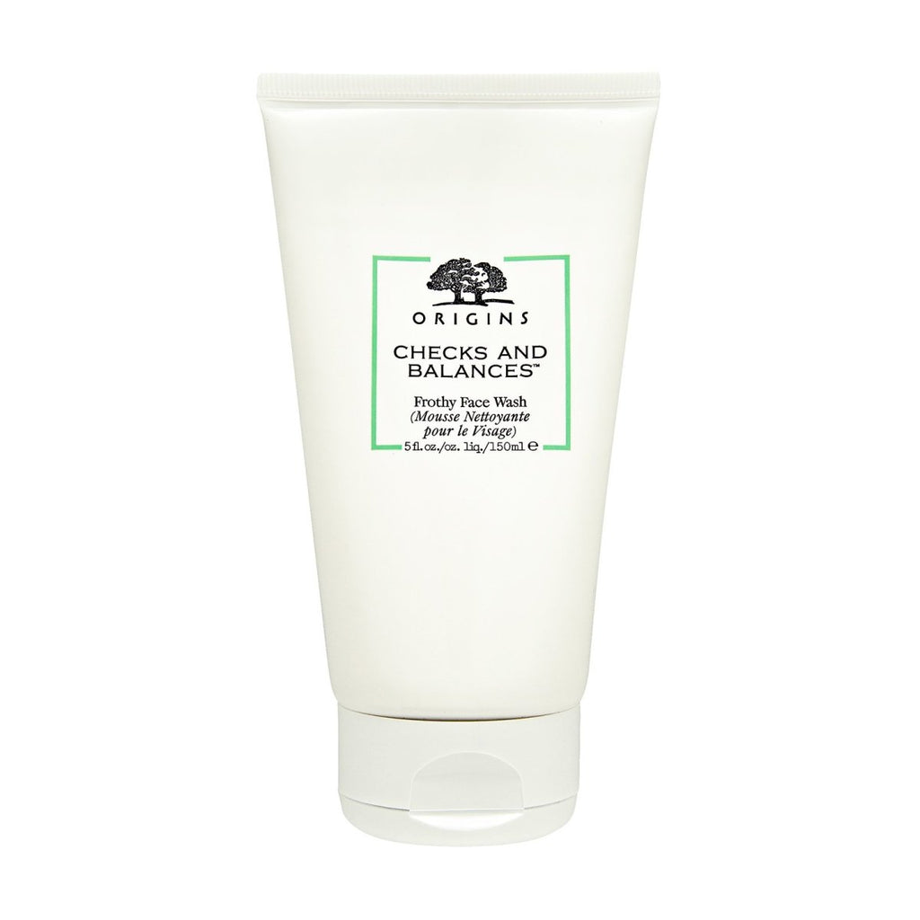 Checks and Balances Frothy Face Wash - Origins