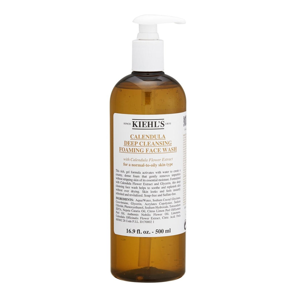 Deep Cleansing Foaming Face Wash (For Normal to Oily Skin Types) - Kiehl's