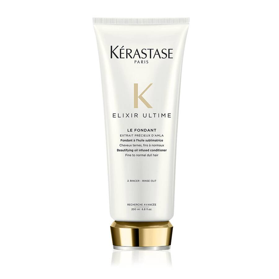 Elixir Ultime Le Fondant Beautifying Oil Infused Conditioner (Fine To Normal Dull Hair) - Kerastase Paris