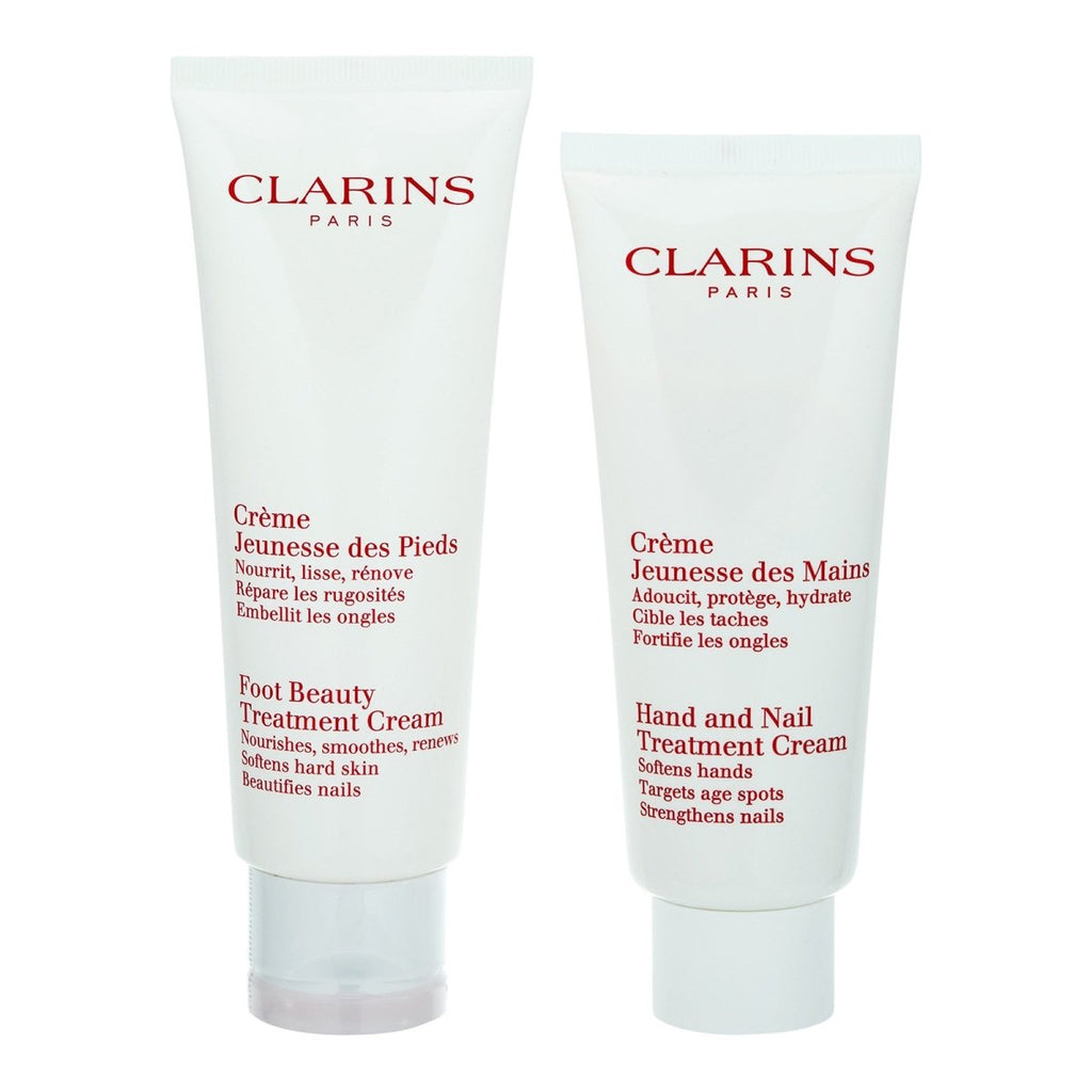 Foot & Hand and Nail Treatment Cream Set - Clarins