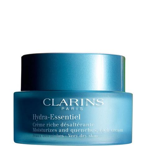 Hydra-Essentiel Moisturizes & Quenches Rich Cream - Very Dry Skin - Clarins