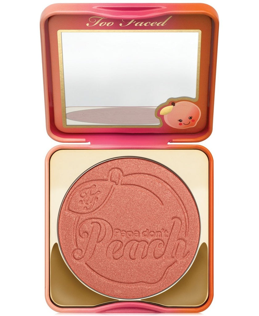 Papa Don't Peach Peach-Infused Blush - Too Faced