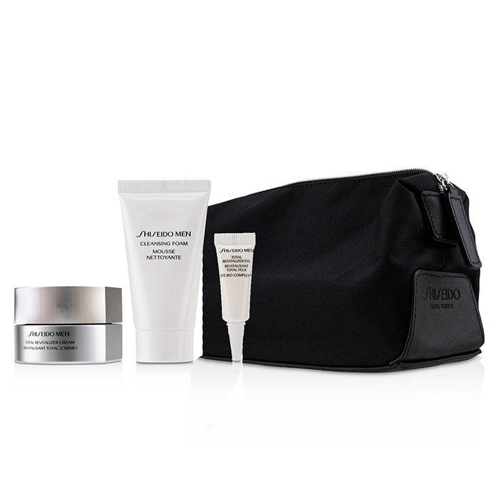 Shiseido Men Total Age-Defense Program 4pcs Set - Shiseido