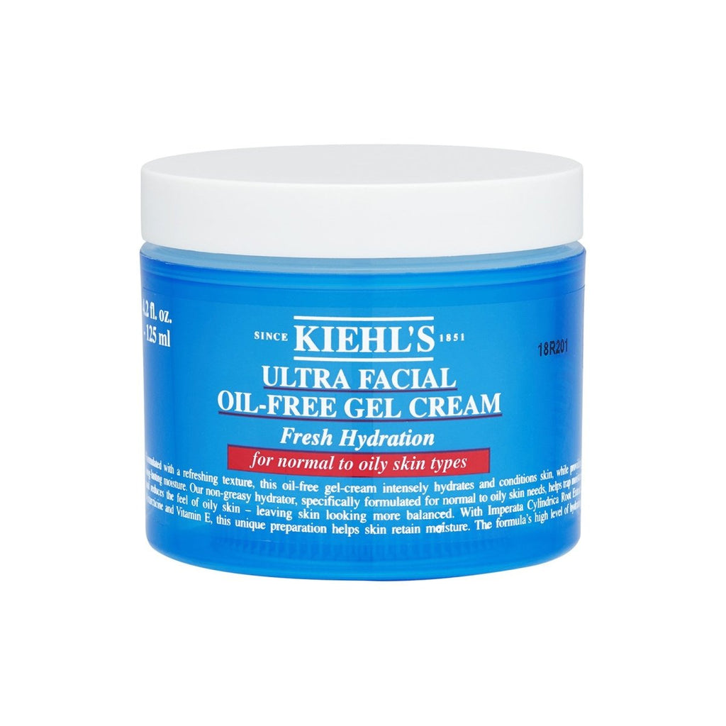 Ultra Facial Oil-Free Gel Cream (For Normal To Oily Skin) - Kiehl's