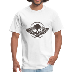 Skull and angel wings | Men's T-Shirt-Men's T-Shirt-get2shirts