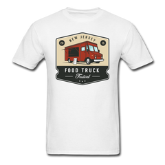 New Jersey Food Truck | Men's T-Shirt-Men's T-Shirt-get2shirts
