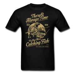 Fishing - Time One More Catching Fish | Men's T-Shirt-Men's T-Shirt-get2shirts