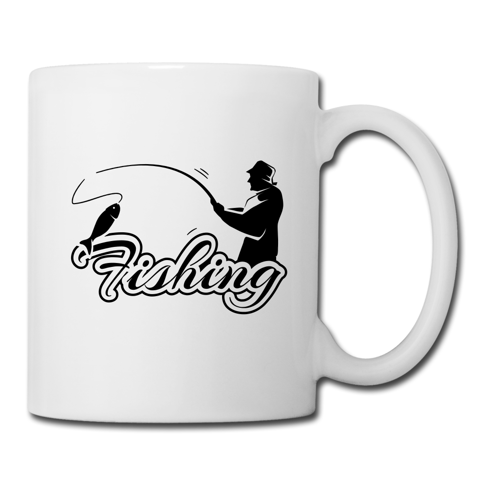 love fishing | Coffee Mug-Coffee/Tea Mug-get2shirts