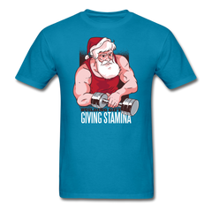 Santa Claus Workout | Men's T-Shirt-Men's T-Shirt-get2shirts