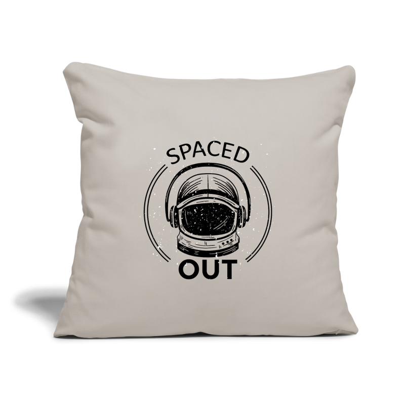 "Pillow | Astronaut Helm Spaced Out-Throw Pillow Cover 18"" x 18""-get2shirts"