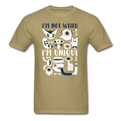 I'm not weird, I'm unique 🤣 | Men's T-Shirt-Men's T-Shirt-get2shirts