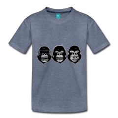 T-Shirt | 3 monkeys - get2shirts