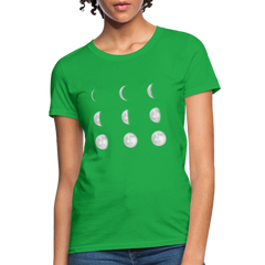T-Shirt | moom phase-Women's T-Shirt-get2shirts