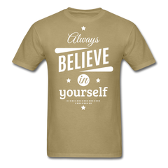 believe in yourself | Men's T-Shirt-Men's T-Shirt-get2shirts