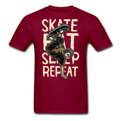 Skate Eat Sleep Repeat | Men's T-Shirt-Men's T-Shirt-get2shirts