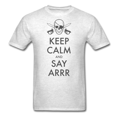 Halloween pirate keep calm | Men's T-Shirt-Men's T-Shirt-get2shirts