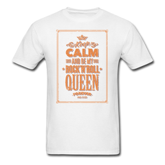 be my rock'n'roll queen | Men's T-Shirt-Men's T-Shirt-get2shirts