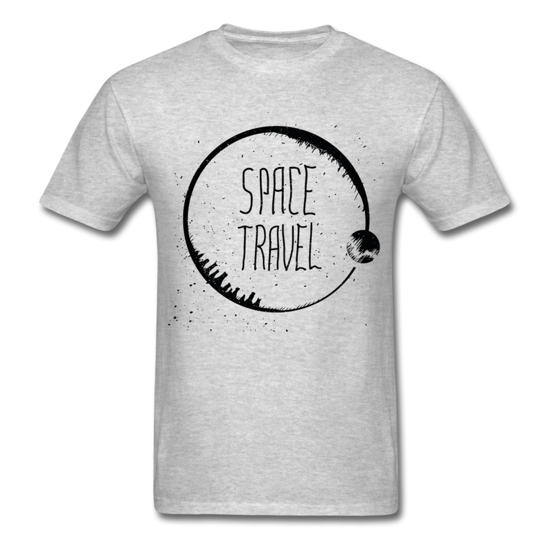 Space Travel | Men's T-Shirt-Men's T-Shirt-get2shirts