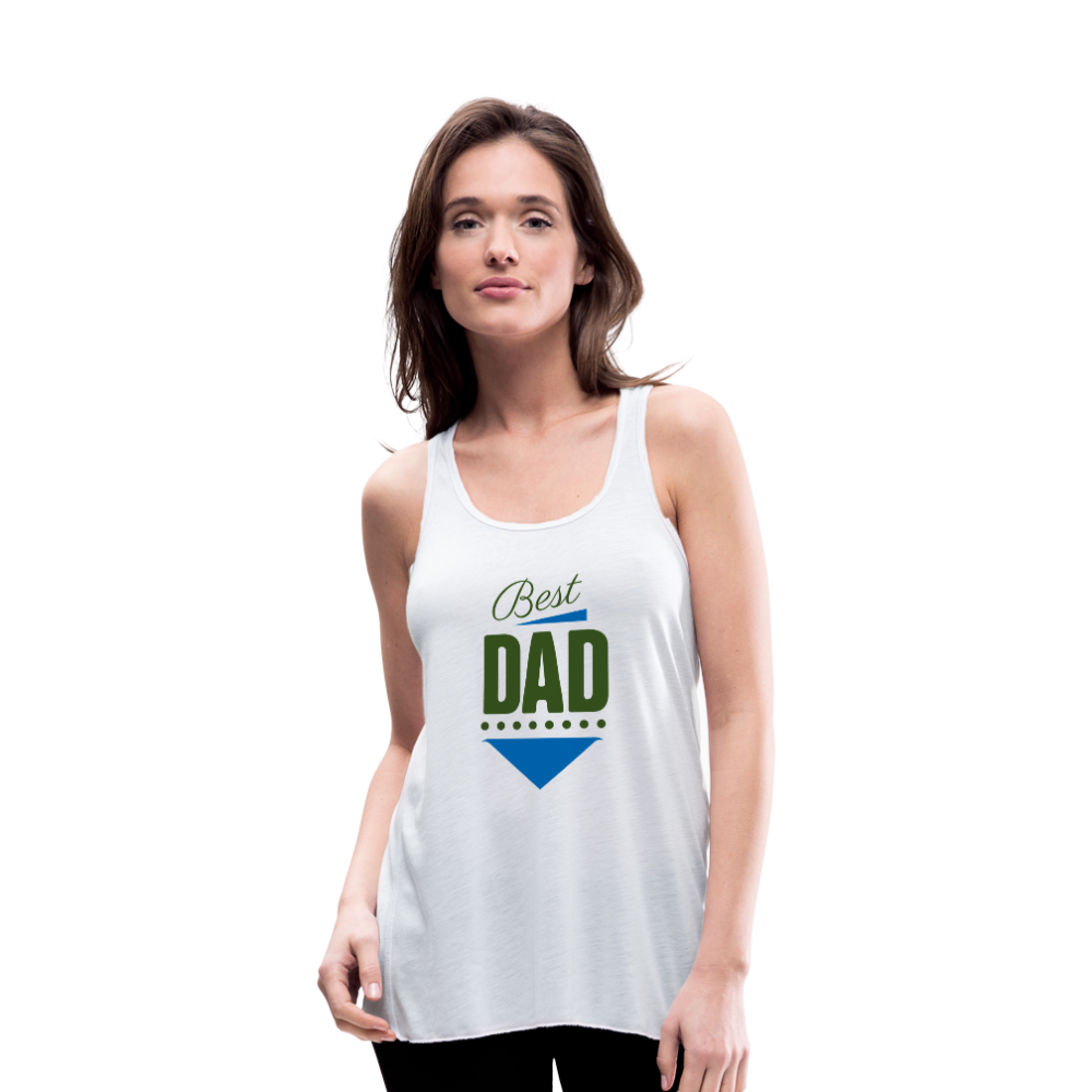 Tank Top | Best dad-Women's Flowy Tank Top by Bella-get2shirts