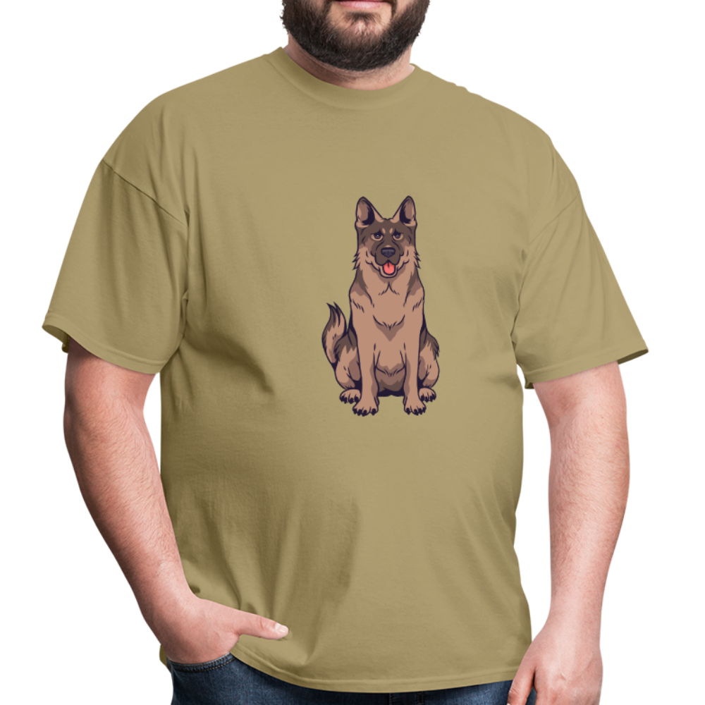 german shepherd dog | Men's T-Shirt - get2shirts