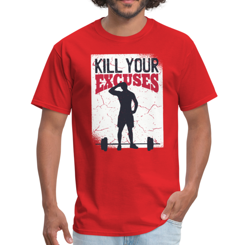 No more excuses | Men's T-Shirt-Men's T-Shirt-get2shirts