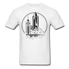 Space Shuttle Adventure | Men's T-Shirt-Men's T-Shirt-get2shirts