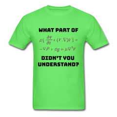 Math what port didn't you understand | Men's T-Shirt-Men's T-Shirt-get2shirts