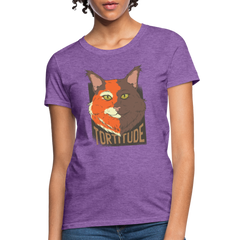 T-Shirt | Cat Tortitude-Women's T-Shirt-get2shirts
