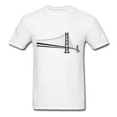 Golden Gate Bridge | Men's T-Shirt-Men's T-Shirt-get2shirts