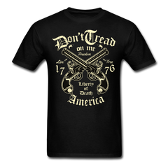 Don't tread on me - America liberty of death | Men's T-Shirt-Men's T-Shirt-get2shirts