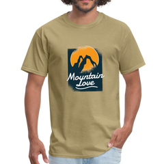 Mountain love | Men's T-Shirt - get2shirts