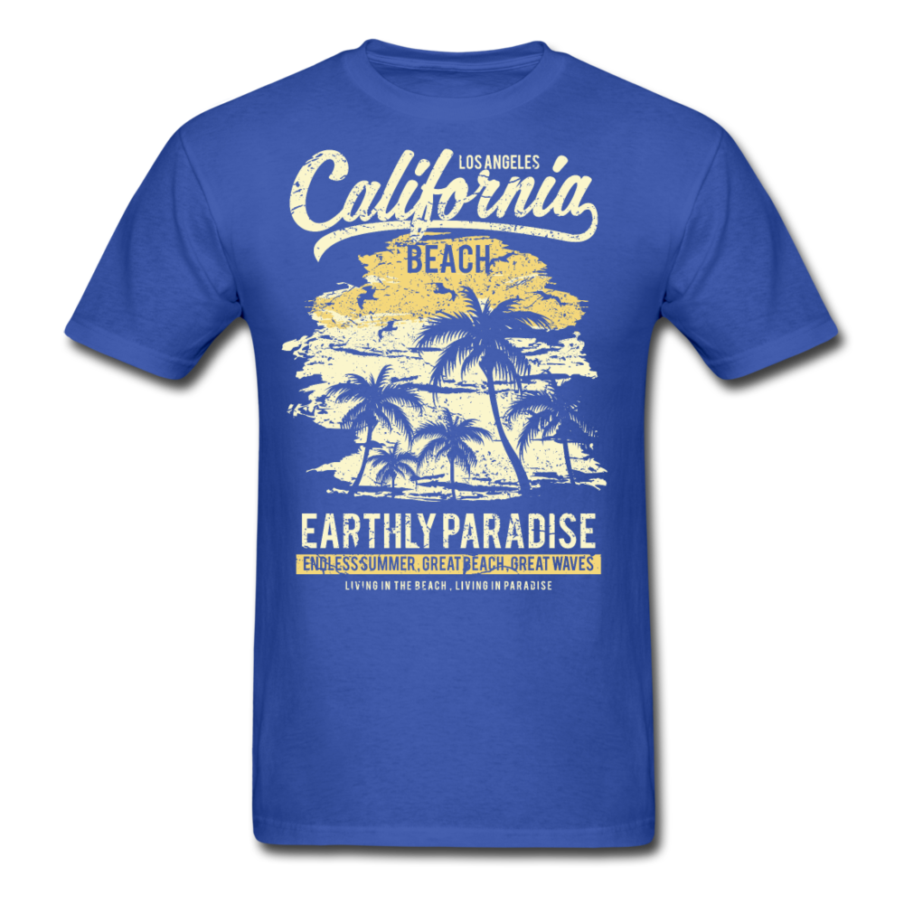 Los Angeles - California Beach Paradies | Men's T-Shirt-Men's T-Shirt-get2shirts