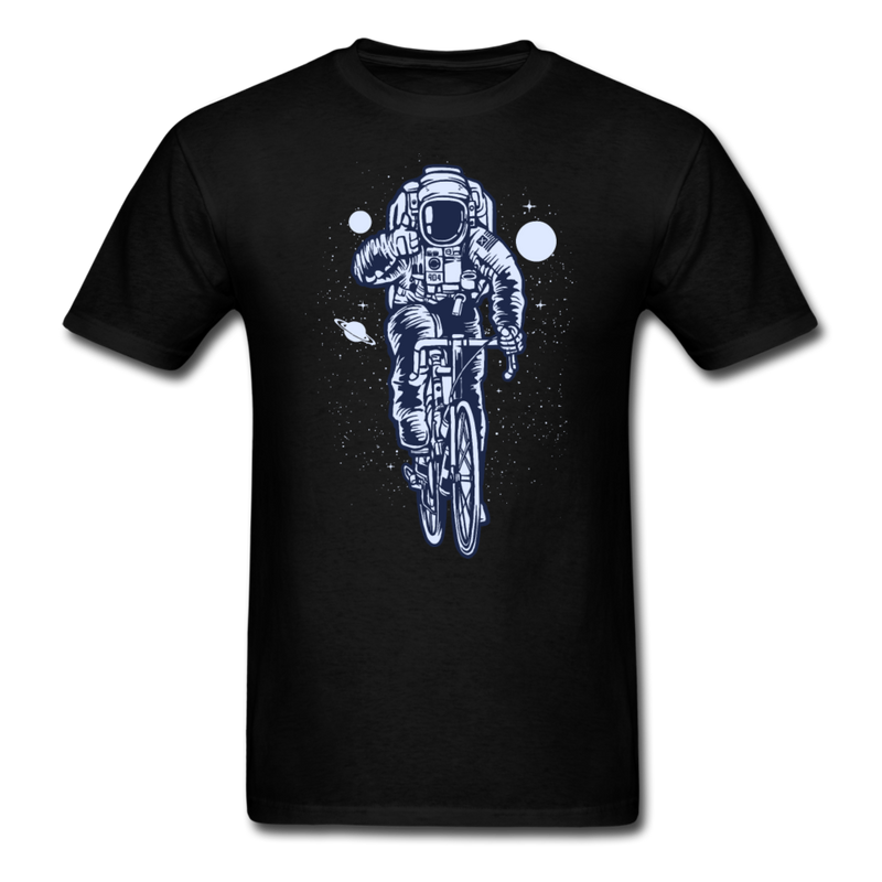Astronaut Bicycle | Men's T-Shirt-Men's T-Shirt-get2shirts