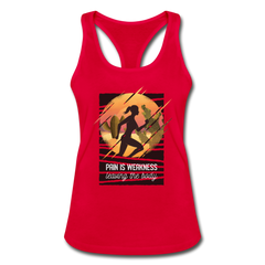 Tank Top | Cross Country Jogging-Women's Racerback Tank Top-get2shirts