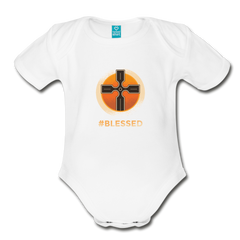 Bodysuit | Blessed-Organic Short Sleeve Baby Bodysuit-get2shirts