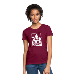 T-Shirt | Ego Shooter Games Battlegrounds-Women's T-Shirt-get2shirts