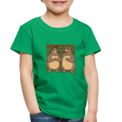 T-Shirt | Bear couple-Toddler Premium T-Shirt-get2shirts