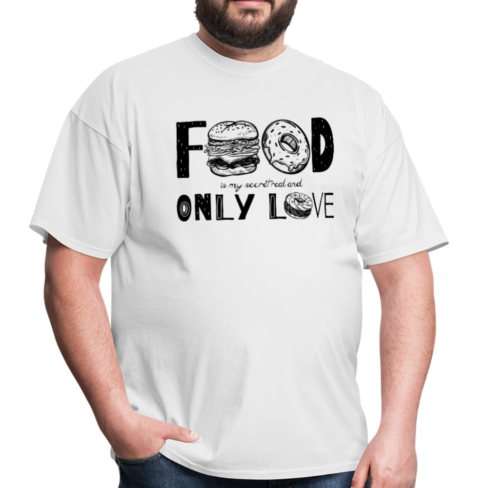 food love | Men's T-Shirt-Men's T-Shirt-get2shirts
