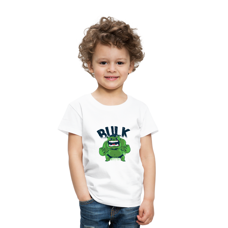 T-Shirt | Green Muscle Comic Man-Toddler Premium T-Shirt-get2shirts