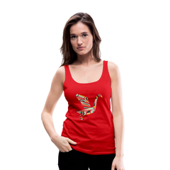 Tank Top | artful swan-Women's Premium Tank Top-get2shirts